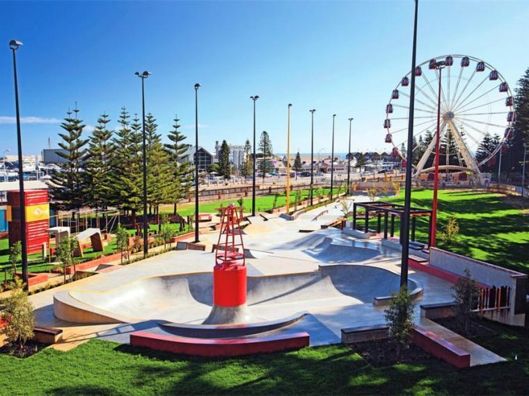 澳大利亚弗里曼特尔滨海青年广场