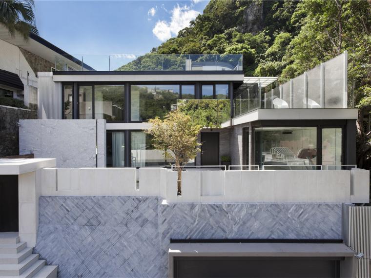 vray室外玻璃材质资料下载-自由平面的住宅
