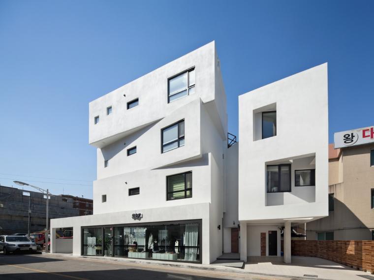 韩国Inter White住宅
