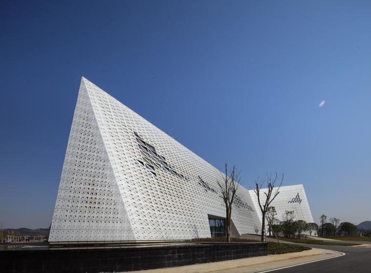 宜昌规划展览馆外部实景图-宜昌规划展览馆第7张图片