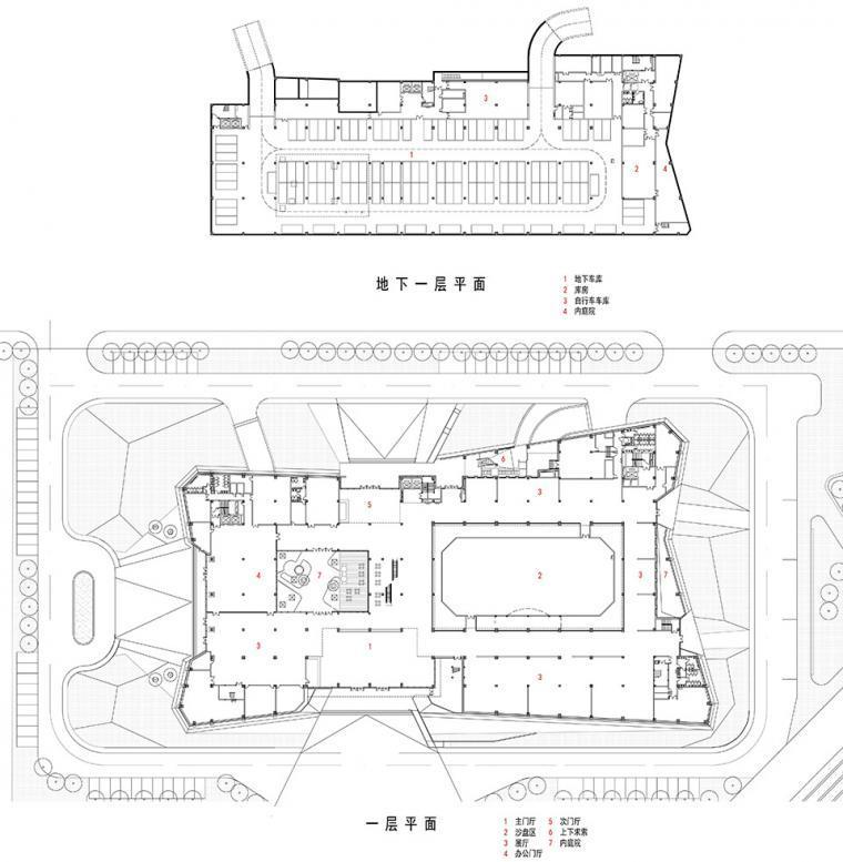 宜昌规划展览馆平面图-宜昌规划展览馆第25张图片