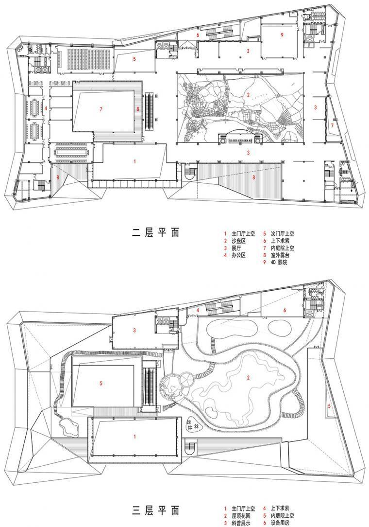 宜昌规划展览馆平面图-宜昌规划展览馆第26张图片