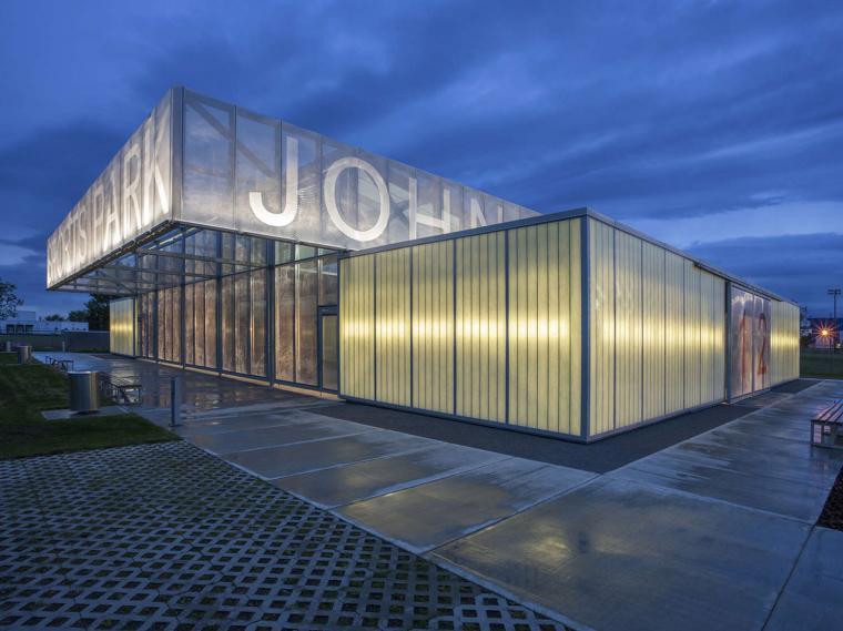 加拿大John Fry体育公园展馆