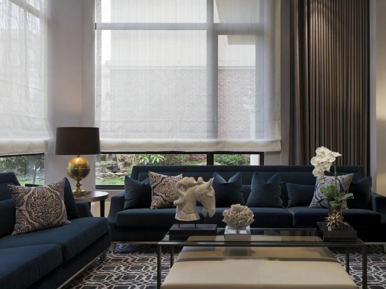 简洁与古典风格的住宅
