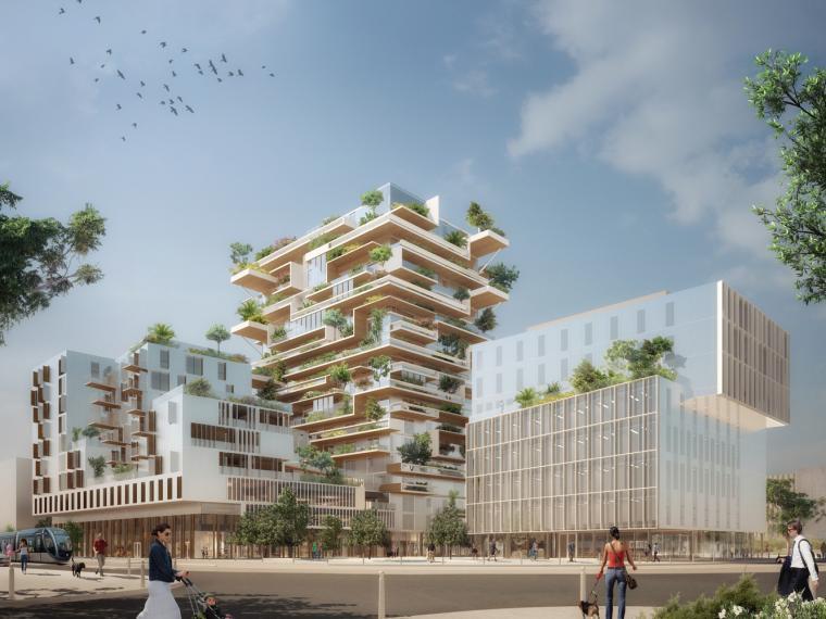 法国绿色综合大楼