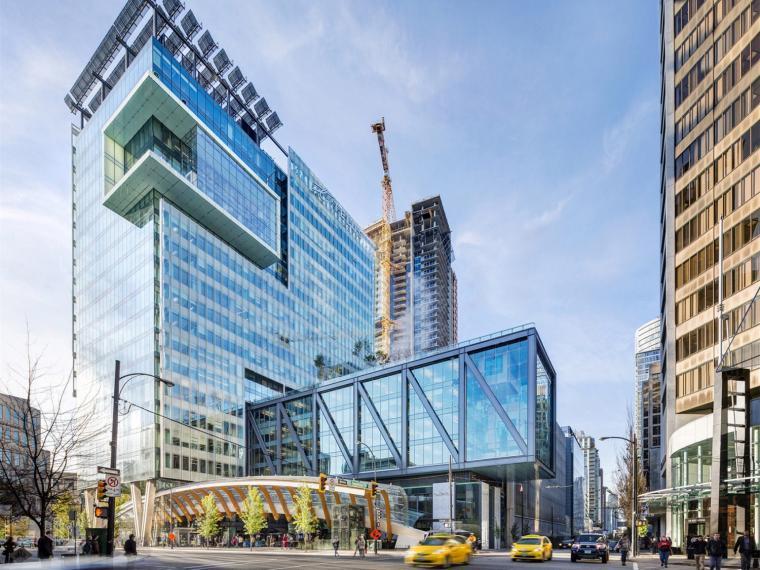 温哥华绿色商业住宅高层建筑