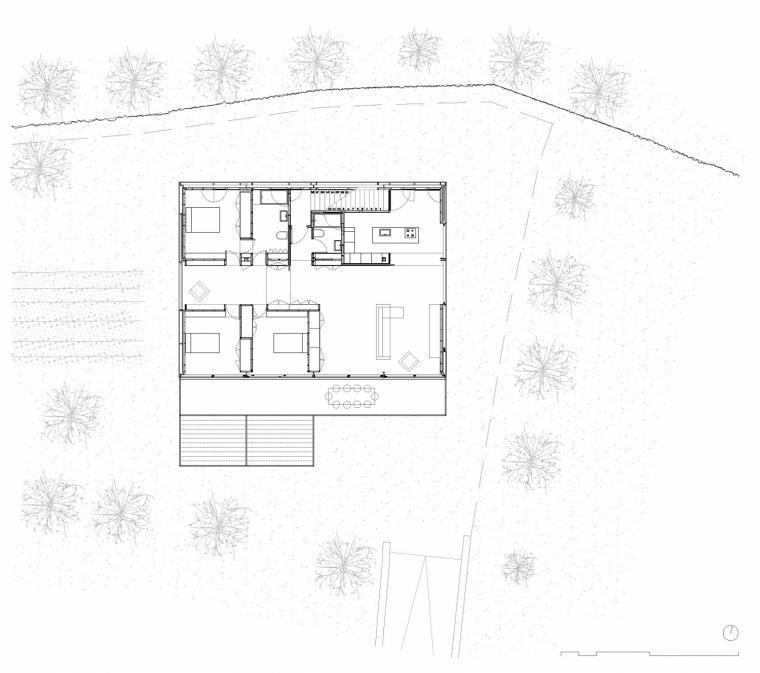 西班牙双层住宅平面图-西班牙双层住宅第16张图片