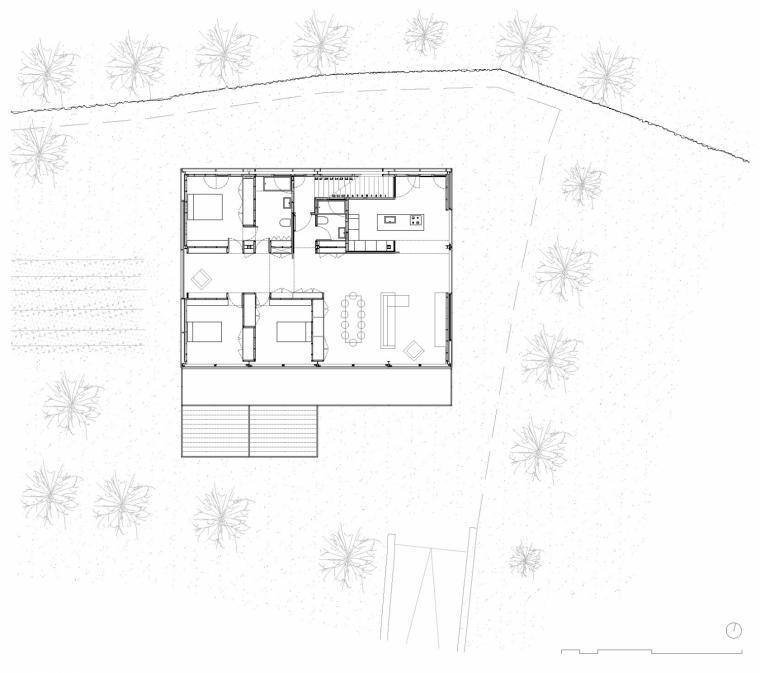 西班牙双层住宅平面图-西班牙双层住宅第19张图片