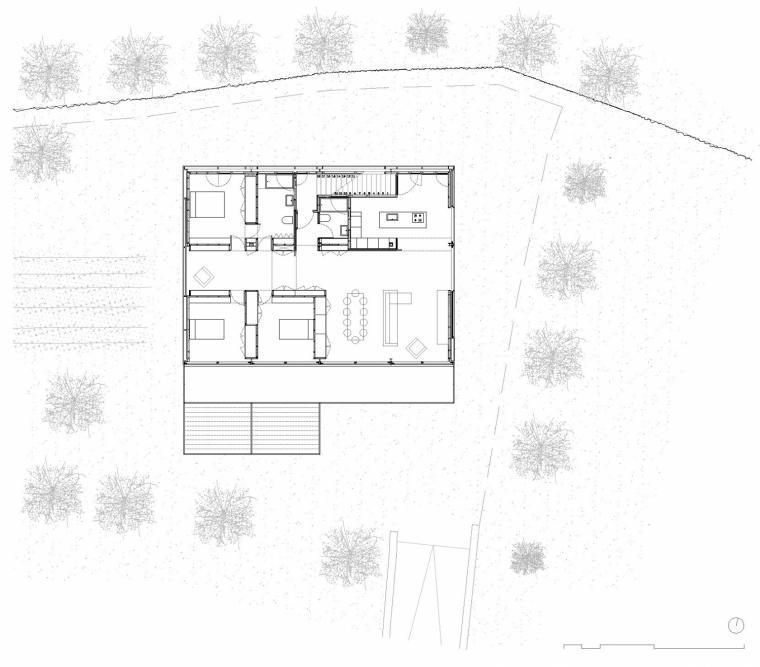 西班牙双层住宅平面图-西班牙双层住宅第20张图片