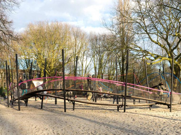 荷兰Oosterpark公园改造