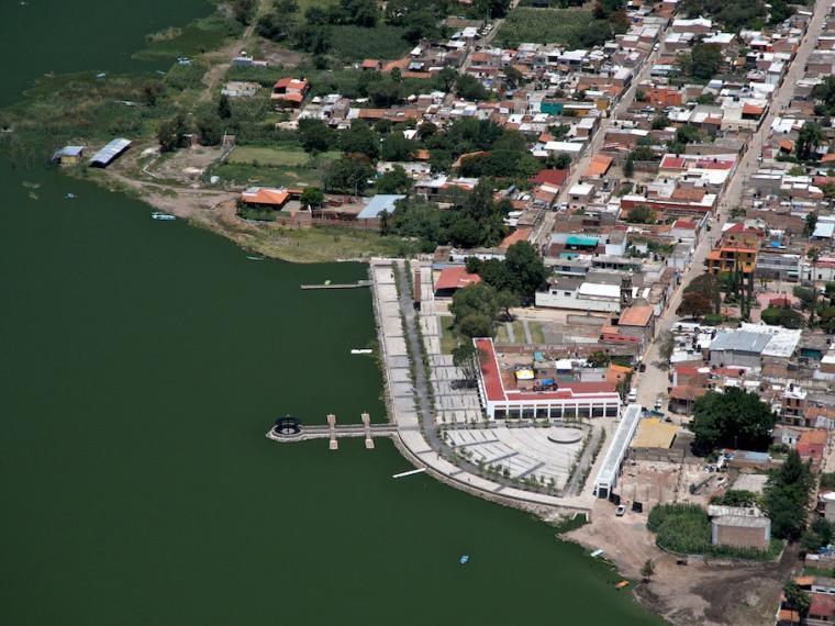 墨西哥码头及湖滨广场的改造