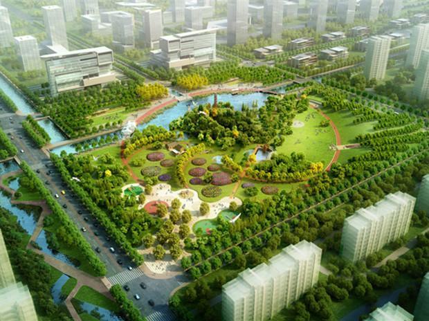 宿迁工业区中央花园