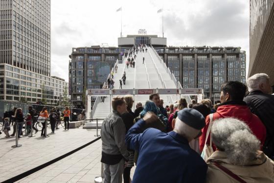 荷兰Rotterdam市中心纪念式阶梯装-荷兰Rotterdam市中心纪念式阶梯装置第3张图片