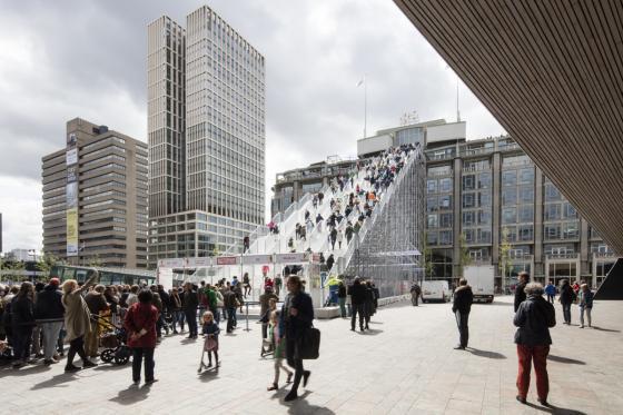 荷兰Rotterdam市中心纪念式阶梯装-荷兰Rotterdam市中心纪念式阶梯装置第6张图片