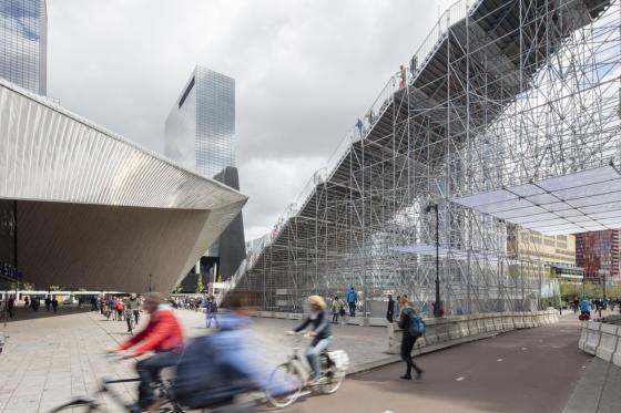 荷兰Rotterdam市中心纪念式阶梯装-荷兰Rotterdam市中心纪念式阶梯装置第11张图片