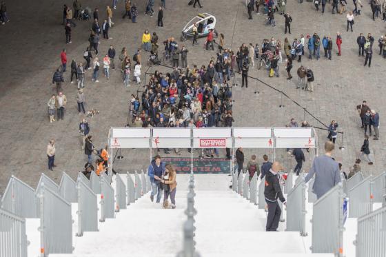 荷兰Rotterdam市中心纪念式阶梯装-荷兰Rotterdam市中心纪念式阶梯装置第14张图片