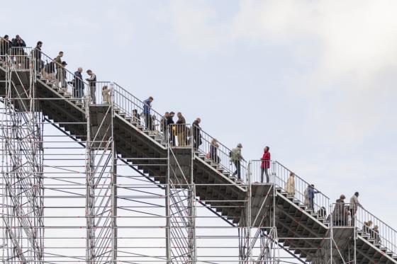 荷兰Rotterdam市中心纪念式阶梯装-荷兰Rotterdam市中心纪念式阶梯装置第15张图片