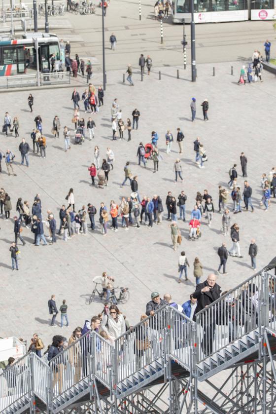荷兰Rotterdam市中心纪念式阶梯装-荷兰Rotterdam市中心纪念式阶梯装置第18张图片