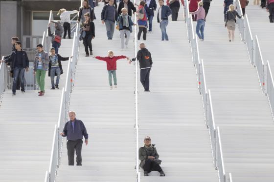 荷兰Rotterdam市中心纪念式阶梯装-荷兰Rotterdam市中心纪念式阶梯装置第21张图片