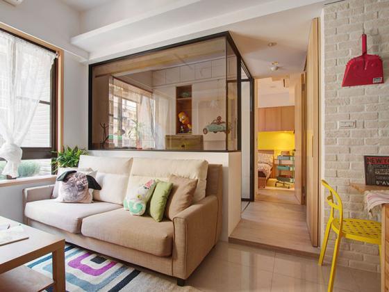台湾丰富靓丽的灵动公寓第1张图片