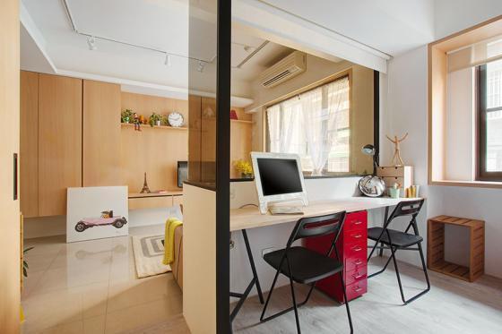 台湾丰富靓丽的灵动公寓室内实景-台湾丰富靓丽的灵动公寓第4张图片