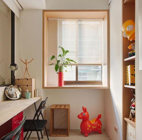 台湾丰富靓丽的灵动公寓室内实景-台湾丰富靓丽的灵动公寓第8张图片