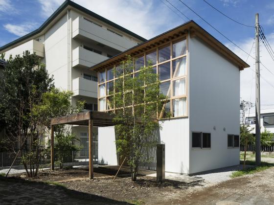 日本模块网格住宅第1张图片