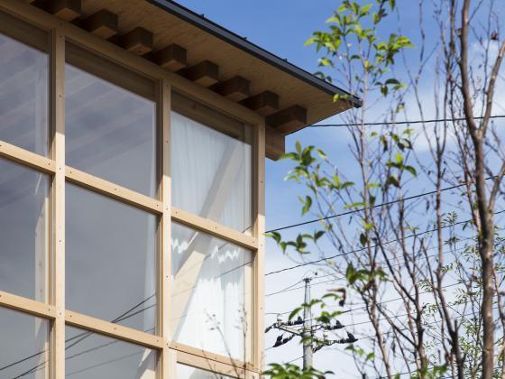 日本模块网格住宅外部实景图-日本模块网格住宅第3张图片