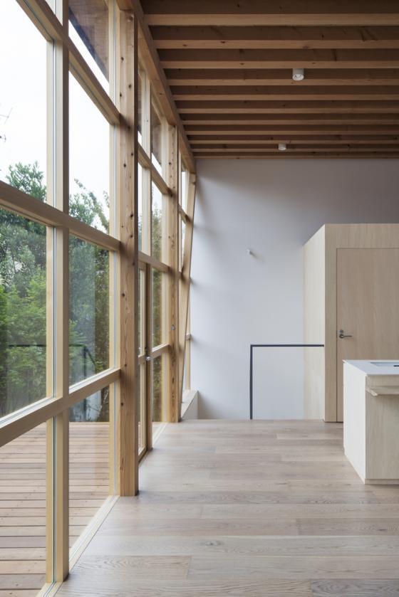 日本模块网格住宅内部实景图-日本模块网格住宅第7张图片