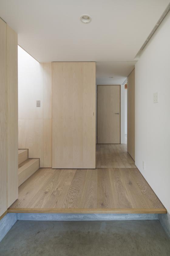 日本模块网格住宅内部实景图-日本模块网格住宅第11张图片