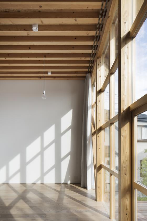 日本模块网格住宅内部实景图-日本模块网格住宅第13张图片