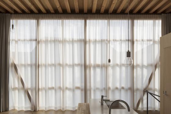 日本模块网格住宅内部实景图-日本模块网格住宅第16张图片