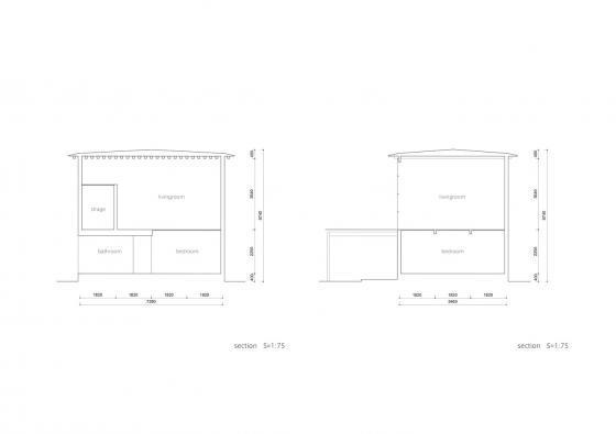 日本模块网格住宅剖面图-日本模块网格住宅第20张图片
