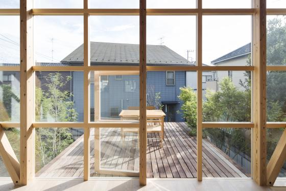 日本模块网格住宅内部实景图-日本模块网格住宅第17张图片