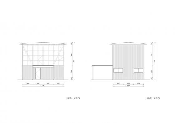 日本模块网格住宅立面图-日本模块网格住宅第21张图片
