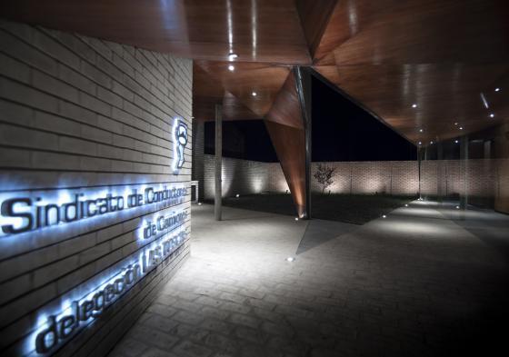 阿根廷SMF-TU医疗设施外部夜景实-阿根廷SMF-TU医疗设施第4张图片