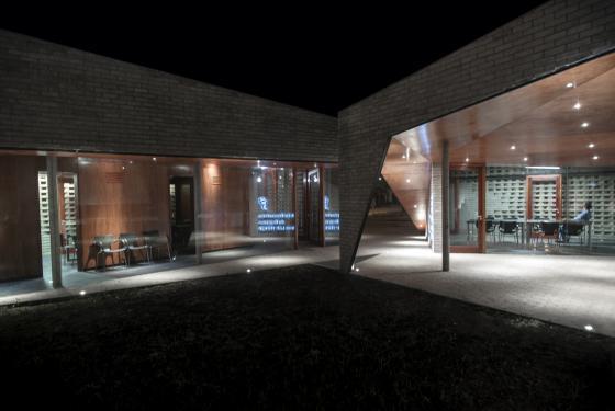阿根廷SMF-TU医疗设施外部夜景实-阿根廷SMF-TU医疗设施第7张图片