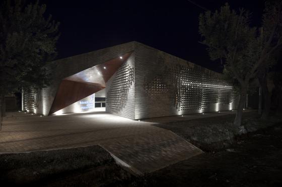 阿根廷SMF-TU医疗设施外部夜景实-阿根廷SMF-TU医疗设施第10张图片