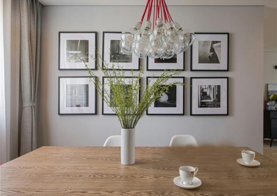 北欧风格样板间室内实景图-北欧风格样板间第4张图片