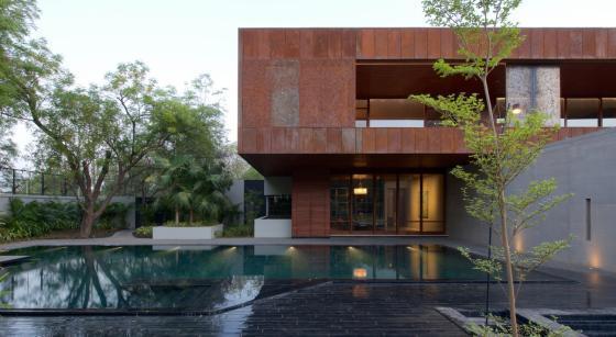 马哈拉施特拉邦DIYA住宅外部实景-马哈拉施特拉邦DIYA住宅第2张图片