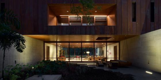 马哈拉施特拉邦DIYA住宅外部夜景-马哈拉施特拉邦DIYA住宅第10张图片