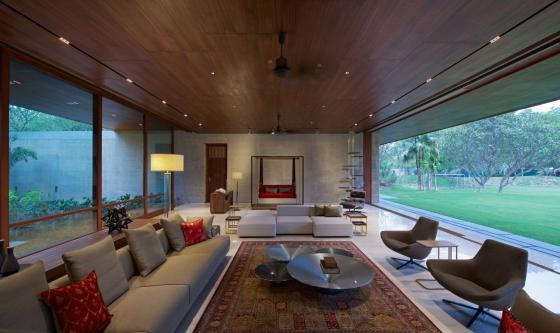 马哈拉施特拉邦DIYA住宅内部实景-马哈拉施特拉邦DIYA住宅第11张图片