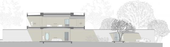马哈拉施特拉邦DIYA住宅剖面图-马哈拉施特拉邦DIYA住宅第30张图片