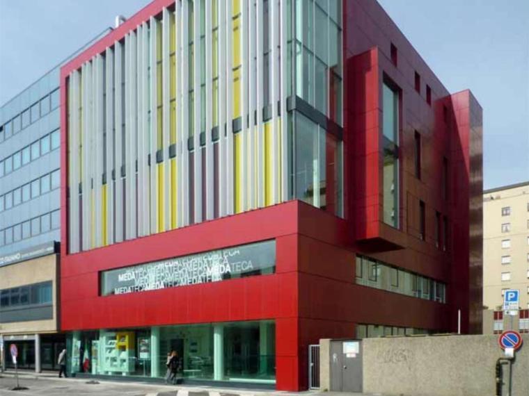 意大利梅达特卡图书馆