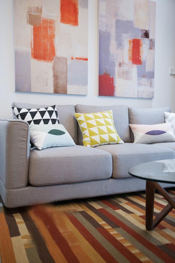 现代简洁质朴风格住宅室内实景图-现代简洁质朴风格住宅第5张图片