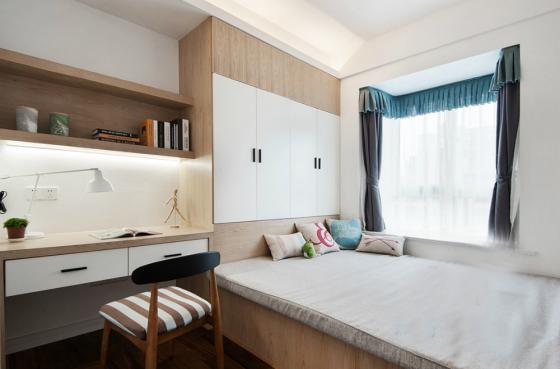 现代简洁质朴风格住宅室内实景图-现代简洁质朴风格住宅第11张图片