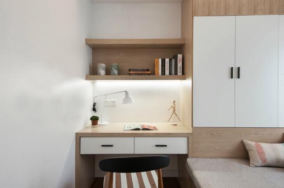 现代简洁质朴风格住宅室内实景图-现代简洁质朴风格住宅第12张图片