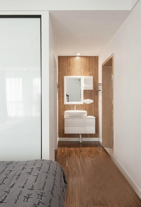 现代简洁质朴风格住宅室内实景图-现代简洁质朴风格住宅第17张图片
