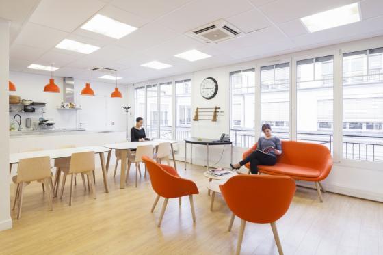 法国Scality公司办公室室内实景图-法国Scality公司办公室第6张图片