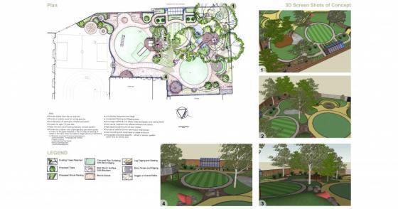 英国Martyrs小学运动场的改造效果-英国Martyrs小学运动场的改造第10张图片